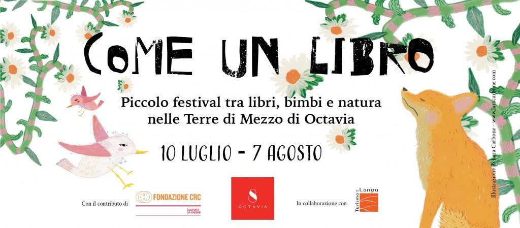 """""""COME UN LIBRO – piccolo festival tra libri, bimbi e natura nelle Terre di Mezzo di Octavia"""""""